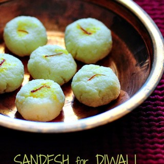 Sandesh recipe, how to make sandesh with chenna