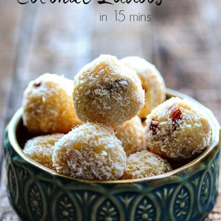 Coconut Ladoo Recipe, 15-Min Coconut Laddu Sweet for Diwali