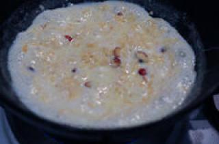 apple kheer-apple kheer recipe-easy diwali sweets-9