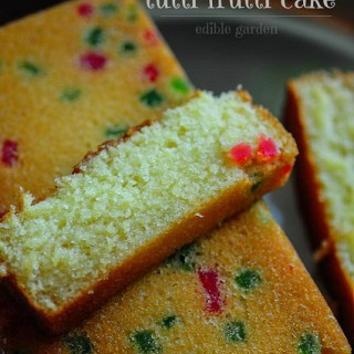 tutti fruit christmas cake recipe