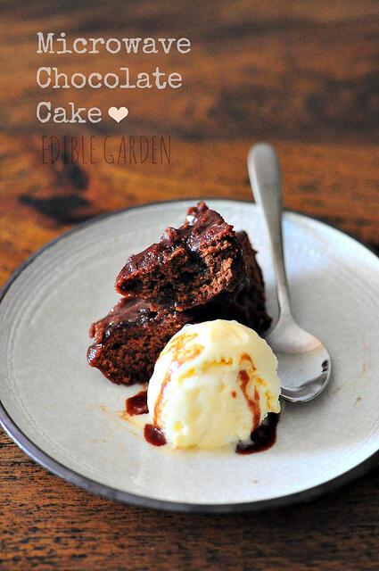microwave chocolate cake recipe in 7