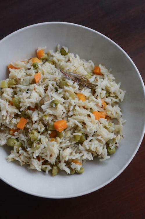 vegetable pulao recipe how to make vegetable pulao recipe