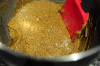 banana oatmeal chocolate chip cookies-7