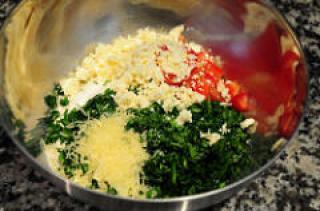 spinach feta muffins recipe-savory muffins recipe-4
