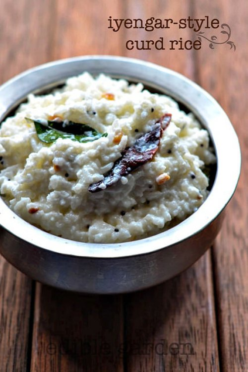iyengar curd rice recipe-dahi annam recipe