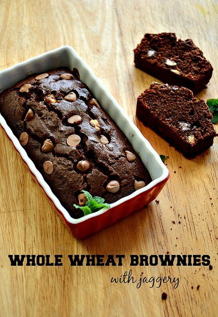 Whole Wheat Brownie Recipe, Atta & Jaggery Brownies, Step ...