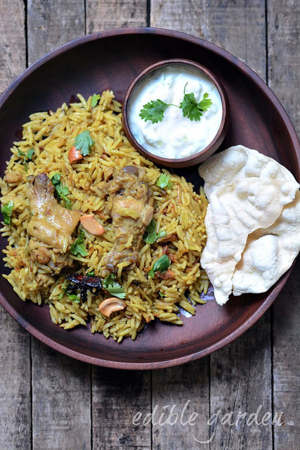 chicken biryani recipe pressure cooker method