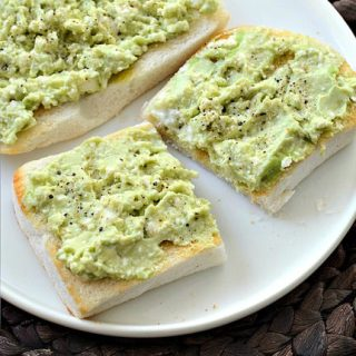 Avocado Feta Smash on Toast, step by step Recipe