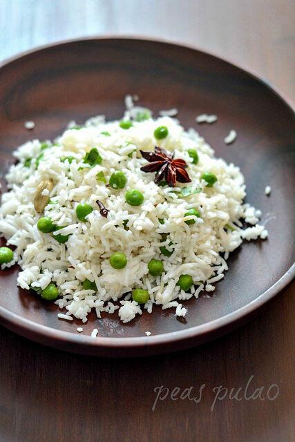 Peas pulao recipe, how to make peas pulao step by step