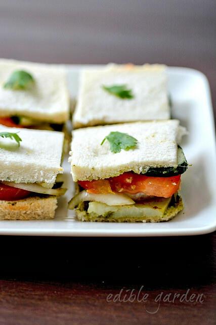bombay vegetable sandwich recipe