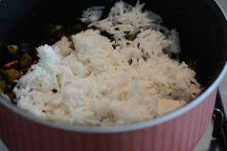 broccoli mushroom fried rice recipe-9