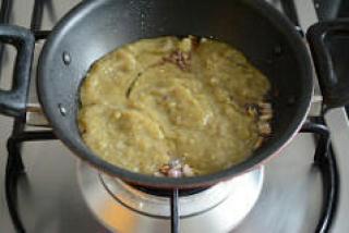 ridge gourd pachadi, beerakaya pachadi recipe-10