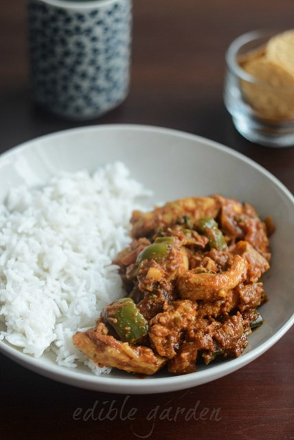 chicken jalfrezi recipe, pakistani chicken jalfrezi