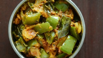 Zucchini besan sabji indian zucchini recipes edible garden capsicum besan sabji recipe how to make capsicum zunka forumfinder Choice Image