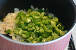 capsicum besan sabji, capsicum zunka recipe-5