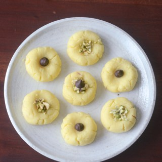 milk peda with milk powder recipe