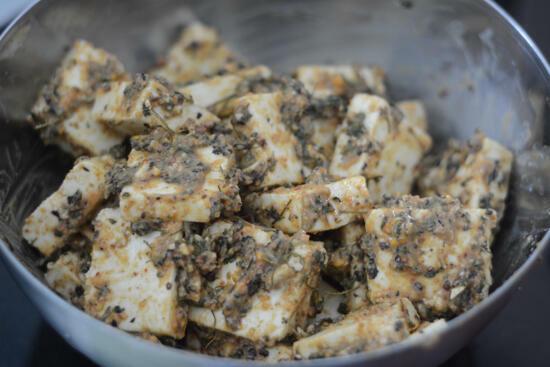 amritsari paneer tikka recipe, paneer amritsari