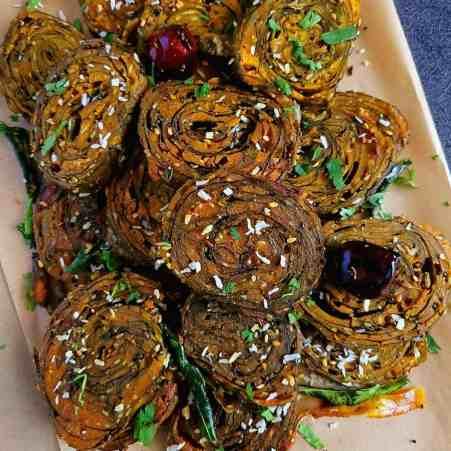 Patra Recipe | Alu Vadi - Cooking Carnival