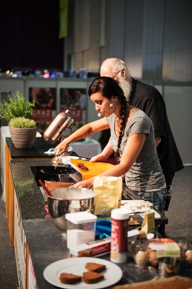 cookingCatrin in der Live-Kochshow
