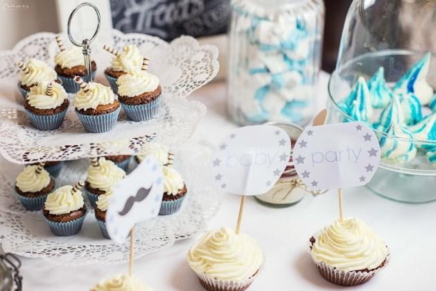 Cupcake mit individuellen Toppern