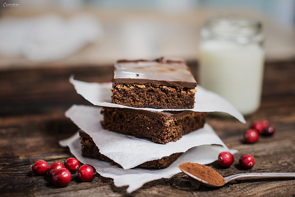 Doppelte Schokoladenbrownies