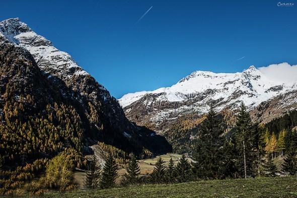 Am Weg Richtung Arlbergpass