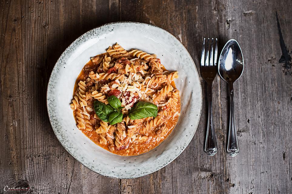 one pot thunfisch pasta