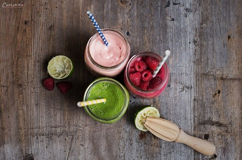 delicious and healthy smoothies