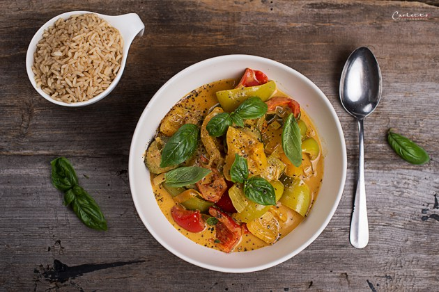 Summer Thai Curry with Vegetables