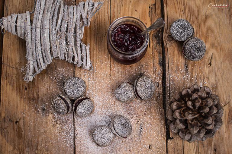 Poppy Cranberry Cookies