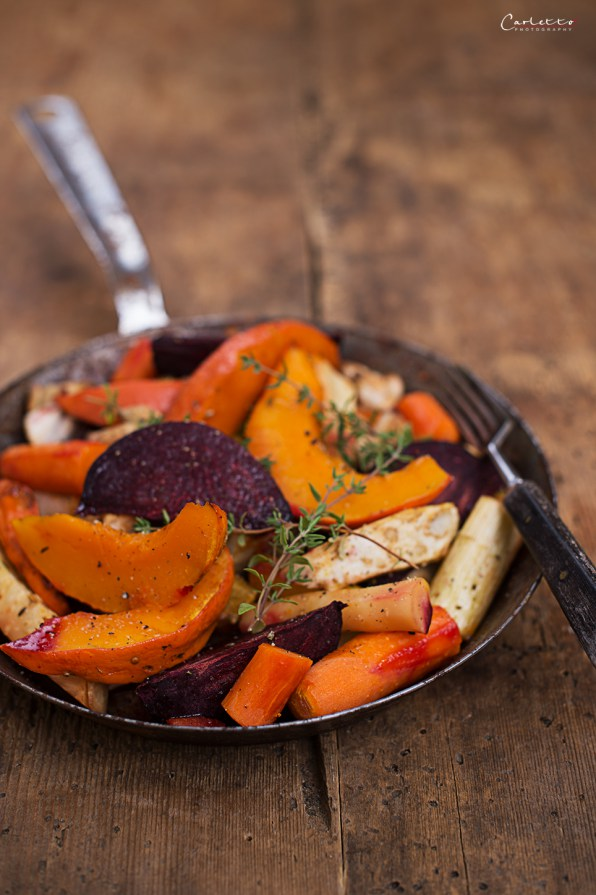 Pumpkin Oven Vegetables