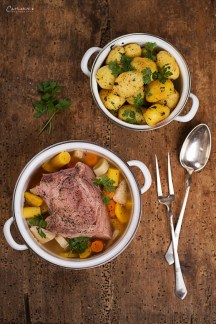 Horseradish Meat with Potatoes
