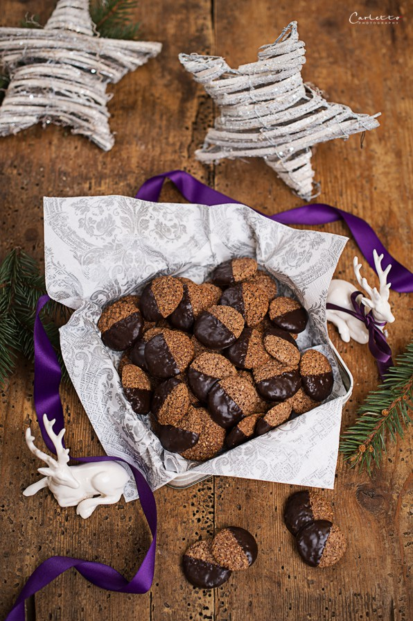 Chocolate Rum Biscuits