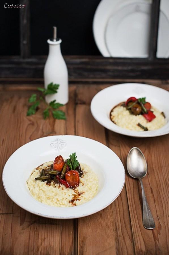 vegetable teriyaki risotto