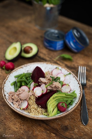 superfood thunfisch bowl