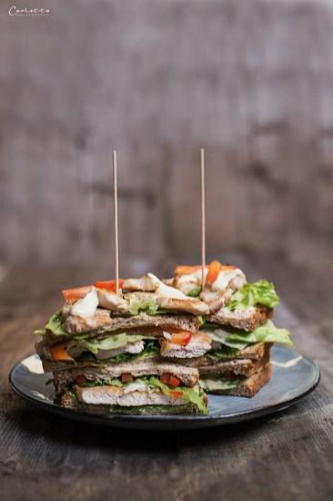 hühner sandwich