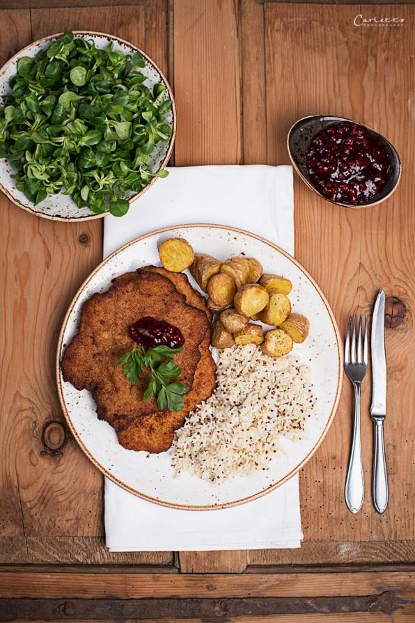 Wiener Schnitzel Reis & Korn