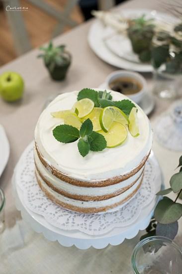 naked mojito cake
