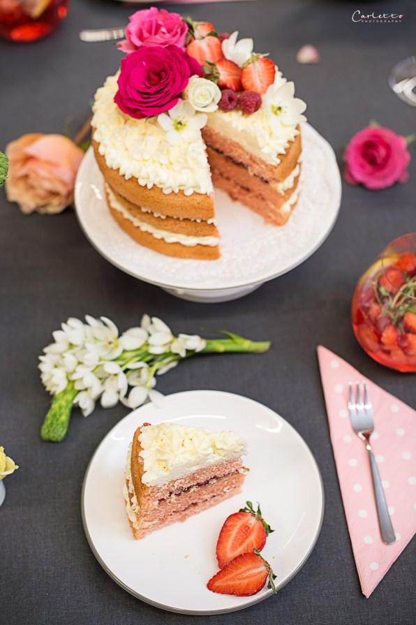 muttertag prosecco torte