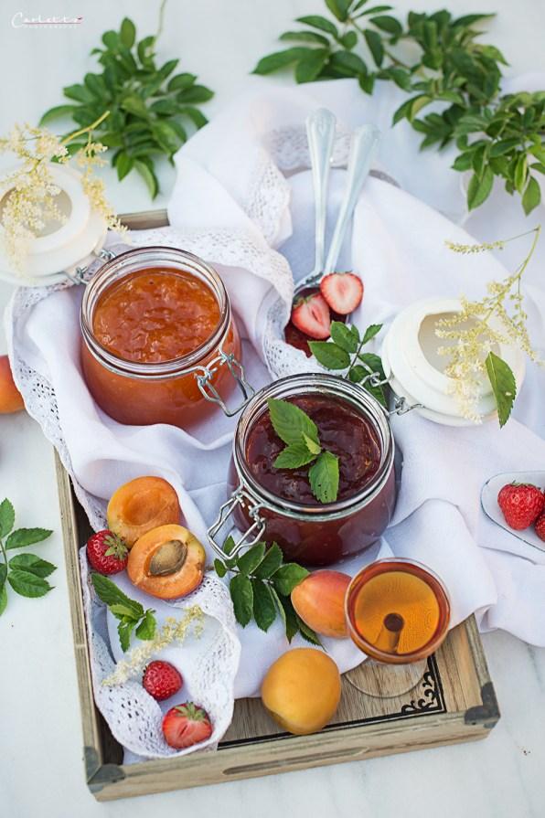 Erdbeer-Marillenmarmelade