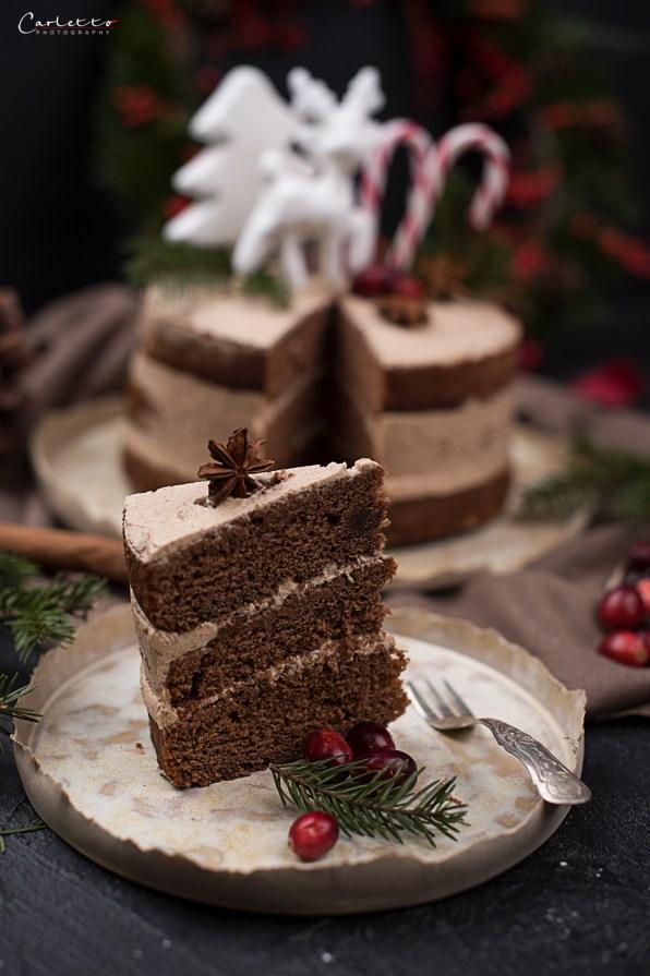 Lebkuchen Naked Cake