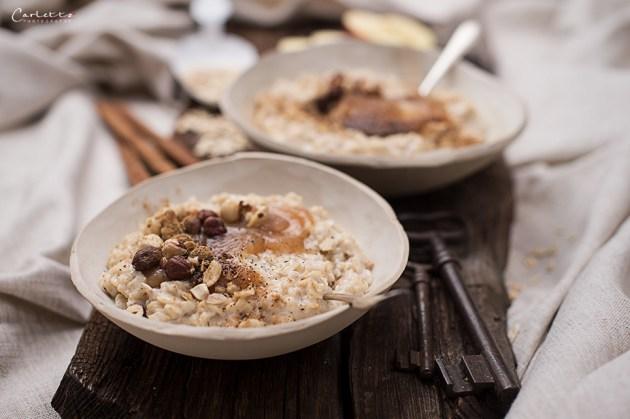 Apfelmus Porridge