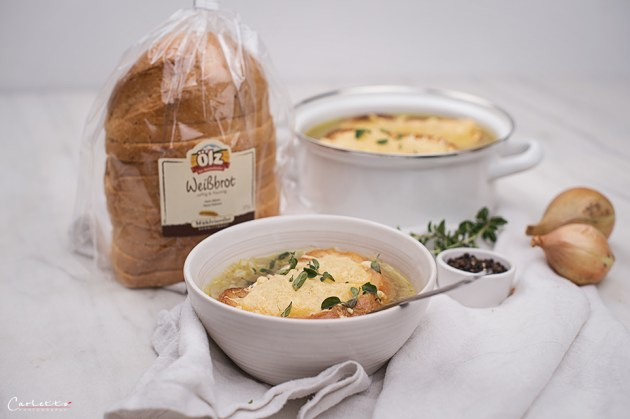 Zwiebelsuppe mit Prosecco