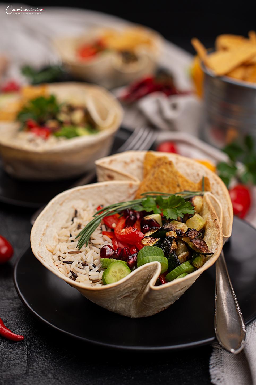 Veggie Fajita Bowls