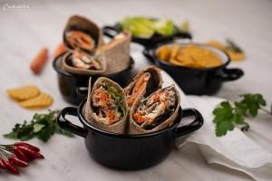 Thunfisch Karotten Wraps