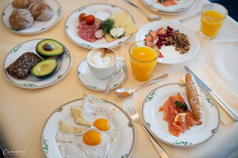 Frühstück im Hochschober