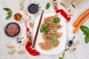 chinesische Teigtaschen