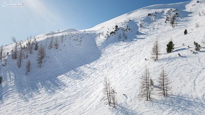 cookingCatrin und Kotosport auf Ski und Snowboard unterwegs auf den Skipisten.