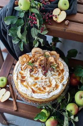 Apfelstrudel Torte