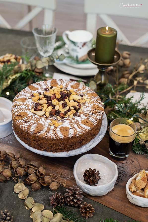 Kaffee Weihnachtsfrüchtekuchen_6180